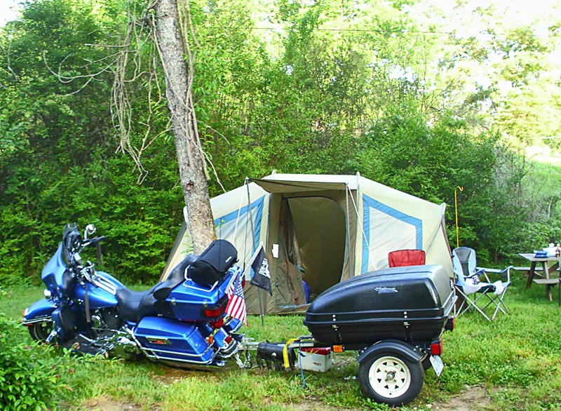 Tail of the dragon camping