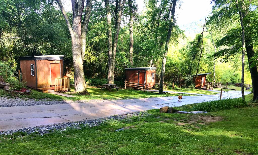 Motorcyle and Pet Friendly Cabin Rentals in the NC Mountains