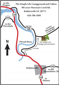 Directions to The Simple Life Campground