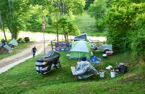 Simple Life Campground Tent Camping Sites